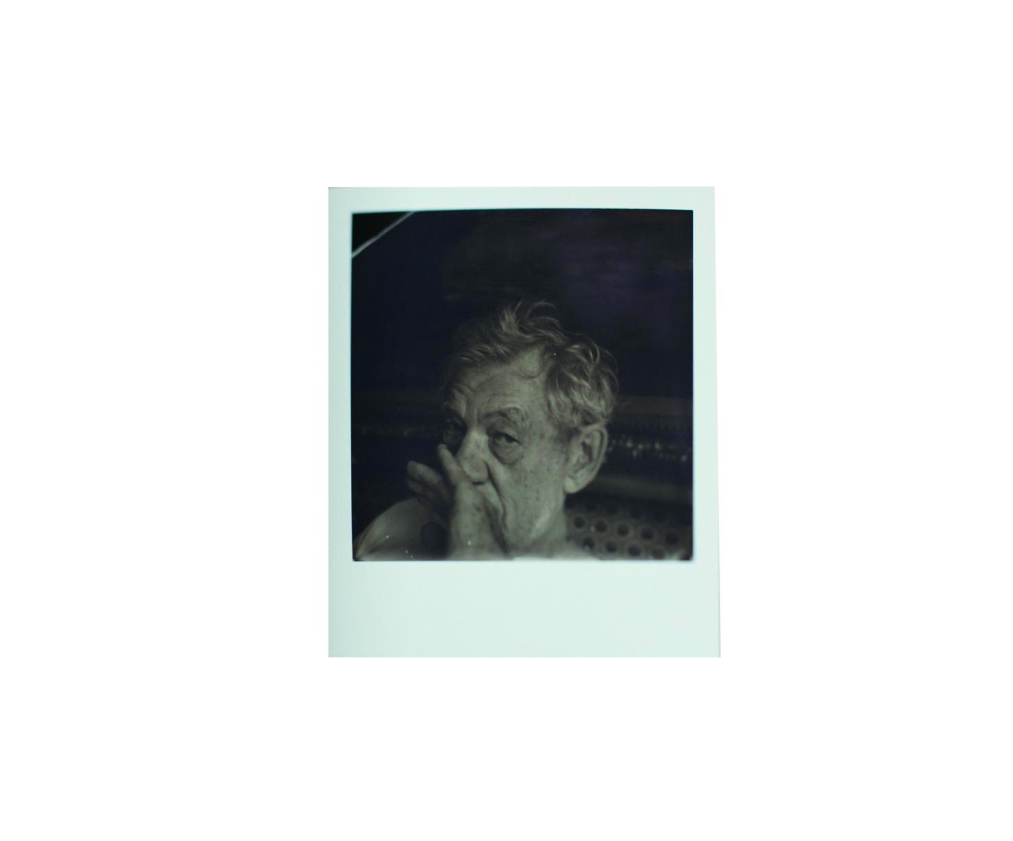 'RITE' and Polaroid of Sir Ian McKellen